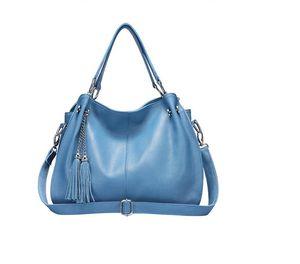 HBP Split Leather New Fashion Female Shoulder Messenger Bag Ladies Soft Crossbody Bags For Women Handbag Sac Fashion Tassel Bag