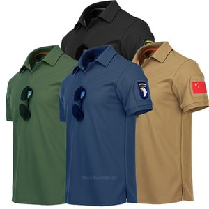 Militritrici Combt Ttorticl Uniform RMY Suit Tuta Polo Camicia per uomo Abbigliamento da caccia Camicie a manica corta Top Irst Bsorb Swet Tees
