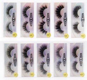 3D Faux Mink Eyelash In Bulk Multilayer Wispy Volume False Eyelashes Cruelty Free Fluffy Lashes Extension Soft Individual Fake Lash Makeup