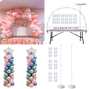Table Balloon Arch Set Ballon Column Stand for Wedding Birthday Party Decorations Kids Balloons Accessories Christmas Decor ball