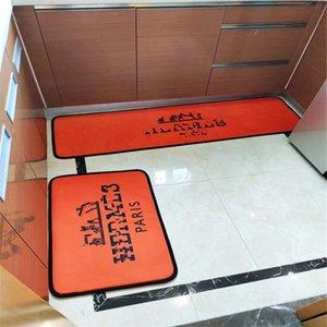 euramerica home kitchen carpet luxury designer foot rug classic style hotel letter pattern no-slip mat