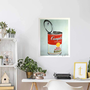 ANDY WARHOL BIG CAMPBELL'S SOUP CAN Home Decoration Handcrafts  HD Print Oil Painting On Canvas Large Wall Art Canvas Picture 210220
