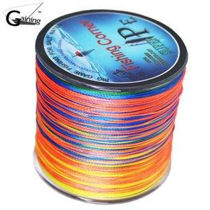 Braided fishing line 500m Multi Color Super Strong Japan Multifilament PE braid 10 20 30 40 60 80 100LB 210609