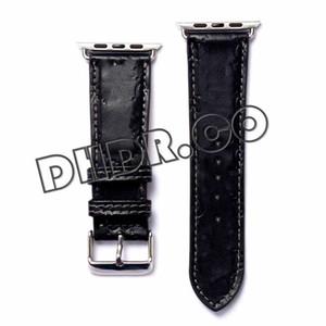 designer Watchbands Watch Band strap 42mm 38mm 40mm 44mm iwatch 2 3 4 5 bands Leather Bracelet Fashion Stripes drop ship