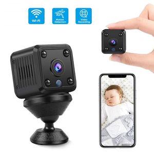 Câmera de vigilância IP WiFi Home Segurança CCTV Câmera Mini 720P HD Night Vision Peças Únicas Carro Portátil ornamentos