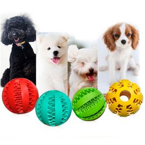2021 Caoutchouc Chew Ball Toys Toys Entraînement Brosse à dents Chews Toy Food Bals Pet Pays Produit Interactive Molaire Morseuse Funny Dent Nettoyer Ball pour chiot