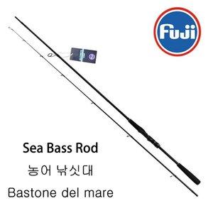Fuji Fishing Rod Professione Alta Carbon Carbon Sea BASS POTPUS PORTA PORTA BIGGING Asta Ocean Popping ML M MH Spinning Casting Lure Bies