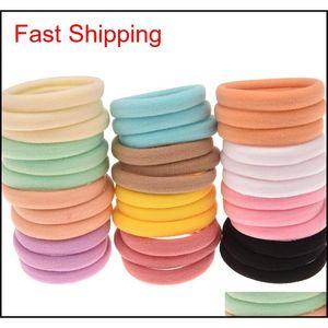 Free Shipping 5cm Diameter Nylon Hair Tie 1cm Yoga Tie Elastic Hair Band Fashion Accessories Boutique H jllOqv dh_garden