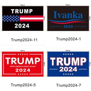 High Quality Trump Flag 2024 Election Flag Banner Donald Trump Flag Keep America Great Trump Flags 150*90cm 3x5ft Digital Print SN3790