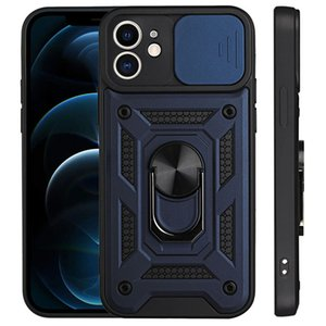 Shockproof Armor Cases Camera Lens Protector Magnetic Ring Holder Back Cover For iPhone 11 12 Pro Max XR XS X 7 8 Plus