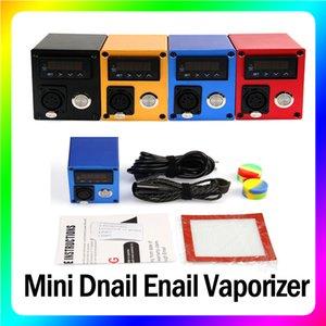 Mini Dnail Enail Vaporizer E-cigarette Kit Temperature Control Heater Box Mod Wax Concentrate Dab Device Accessories
