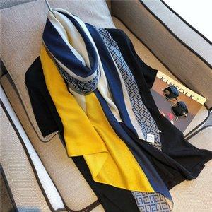 Марлевые шелковые шарфы для женщин весной, осенью и зимой