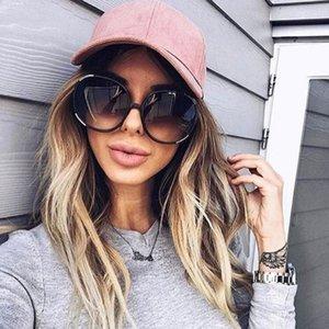 جودة جولة النظارات الشمسية المتضخم النساء 2021 فاخرة العين نظارات الشمس ظلال للنساء كبار الباعة lentes de sol mujer
