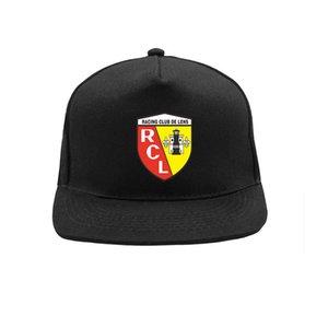 Euro Club RC Lens Hat Hat Cool Открытый Регулируемый Лето RC Линза Футбол Футбол Хип-Хоп Шапки