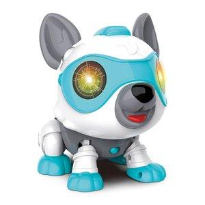 Simulation Robot Dog Electronics Pet Dog Smart Puppy Responds To Bark Touching Control Educational Intelligence Toys Gifts