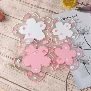 Cherry Blossom Placemat Heat Insulation Table Mat Family Office Anti-skid Tea Cup Milk Mug Coffee Cup Coaster w-00715