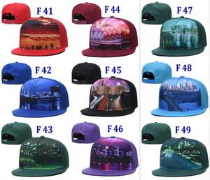 New Football Snapback Hats Teams City Printed Hats Premium Embroidered Hat Men Women Adjustable Caps Wholesale