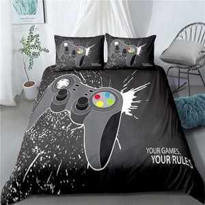 Gamepad Bedding Sets 3PCS Bedding Duvet Cover Sets For US-Twin(172*218cm) Online Sale