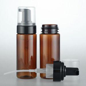 150ml Empty Amber Plastic Foaming Bottle Soap Dispenser Container 3OZ Foam-soap-Dispense Foam lotion Pump bottle DH5411