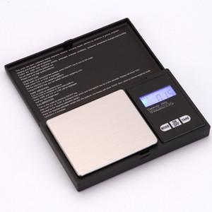 Bolso portátil Bolso Digital Escala de Ouro de Ouro Mini Aço Inoxidável Escala Eletrônica Gram Balanço Escala de Peso OOD4743