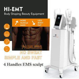 Best emslim beauty body shape slim machine Cellulite Treatment 2 years warranty Stimulate Muscles equipment free shippment
