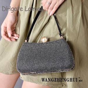 On Sale Fashion Bag Handbags Designer Bling Bling Dinner Bag Women Evening Bags Lady Shiny Pearl Party Bridsmaid Dress Shoulder Bag