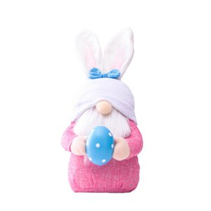 Easter Cute Faceless Stuff Plush Doll Gnome Bunny Decoration Handmade Rabbit Elf Plush Toys Doll Party Home Decor Easter