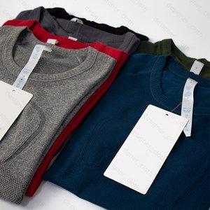 요가 Womens 신속한 기술 숙 녀 스포츠 T 셔츠 짧은 소매 티셔츠 습기 니트 니트 높은 탄성 피트니스 패션 티셔츠