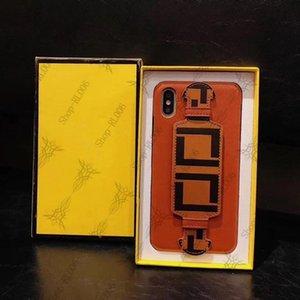 (Venta caliente) Diseñador de moda para iPhone 11 Pro Max 7 8PLUS X S R Caso de teléfono móvil de lujo + caja de embalaje
