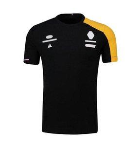 F1 Motorradformel 1 Neues Team Polyester Schnelltrocknung Rennanzug Männlich Kurzarm T-Shirt Körperkleidung Auto Logo Arbeitshemd Laufen von