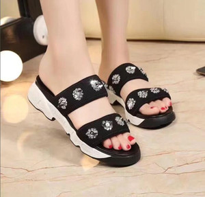 Y3 slippers sandals men sandals lazy teen crowd bottomed sandals Y 3 summer slippers word drag drag recreation,Y-3 Y 3 Slippers