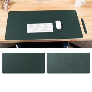 Double Sided Desk mats oversized mouse pad Laptop desk pad Waterproof PU leather mouse pad MY-inf0031 761 K2