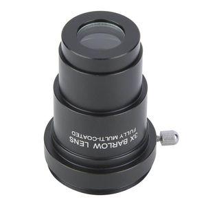 Interface de fio M42X0.75 da lente de Barlow 3x para 5.25 polegadas oculares astronômicas do telescópio