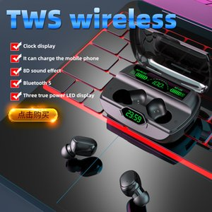 G6 Bluetooth Auricolari Touch Sports Mini Auricolare wireless impermeabile Display digitale TWS IN-EAR