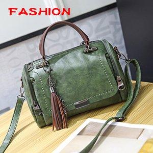 bags designer lady handbag luxury European and American fashion retro ladies handbags oblique pillow bag zipper mobile phone ID sandwich