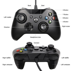 2020 For XBOX ONE wired controller for Xboxone game controller pc vibration game controller free shipping