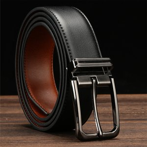 High Quality Geniune Fashion Jeans Men's Belt Strap Business Male Leather Belts for Men Casual Vintage Pin Buckle