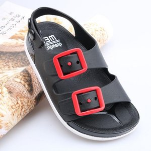2021 Summer Boys Leather Sandals for Baby Flat Children Beach Shoes Kids Sports Soft Non-slip Casual Toddler Sandals 1-5 years
