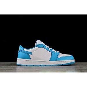 Эрик Костон SB 1 Низкий UNC Баскетбольные Обувь Мужчины Женщины Порошок Синие Белые кроссовки