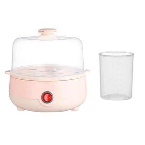 Mini Electric Pan Boilers Household Boiled Egg Cooker Multifunctional Heat 7 Eggs Bun Boiler Steamer 220V Auto Shut