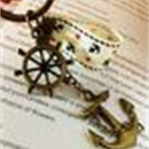 إيفل الرجعية أقراط سكورات المفاتيح Hyes Navy Tower Tower المعلقات 4 نماذج