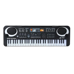 61 Keys Black Digital Music Electronic Keyboard Key Board Electric Piano Kids Gift Musical Instrument
