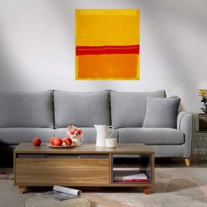 Mark Rothko Number 22 Painting Home Decoration Handcrafts  HD Print Oil Painting On Canvas Large Wall Art Picture 210226