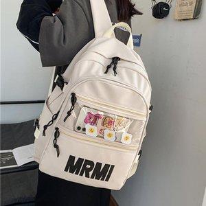 Schoolbag Big Women Rucksack Cotton Backpack Bookbag For Lovers Student Travel Teenager Laptop Female Bag Men JOYPESSIE Mochila Wgurt