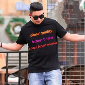 Fábrica de alta calidad Venta directa Nueva marca Diseñador de manga corta Impresión de moda para hombres y camisetas para mujer Casual Ropa al aire libre T S-5X