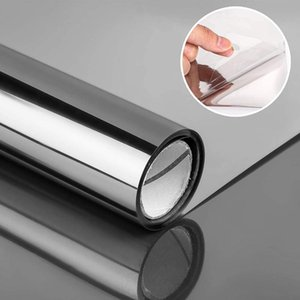Window Stickers Anti Look Decorative Glass Sticker Solar Privacy For Home Office Anti-UV Thermal Tint One Way Film Car