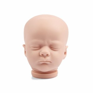 RBG 17 Inches Ashley Sleeping Reborn Baby Lifelike Doll Unpainted Unfinished Part DIY Blank Kit Gift LOL Toys For Girl Children 0222