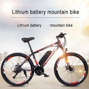 Batterie de lithium électrique 26 pouces Vélo de montagne 27 Vélo Vélo Variable Adulte Variable hors route