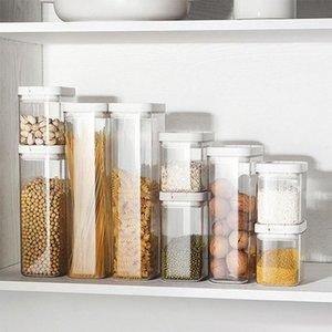Бутылки для хранения JARS 500/800/1800 мл Пищевая контейнер для пищевых продуктов.