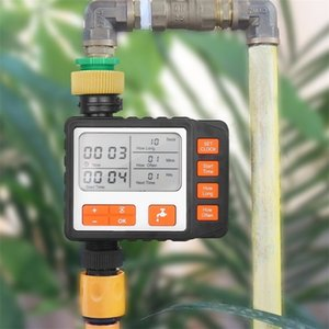 Outdoor Programmable Digital Water Timer Single Outlet Automatic Irrigation System Controller Water Faucet Hose Timer 201204